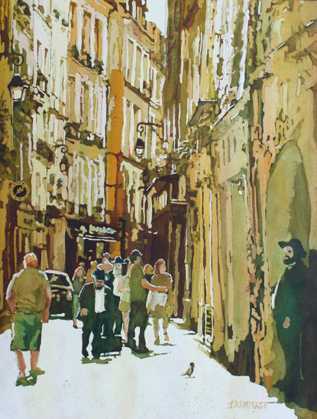 Painting - Late Morning In Le Marais by Jenny Armitage