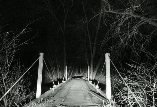 Photograph - Late Night Crossing by Wild Thing