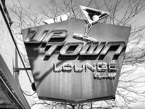 Wall Art - Photograph - Late Night Lounge Uptown Lounge  by William Dey