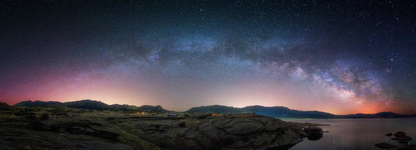 Photograph - Late Night Milky Show by Darren White