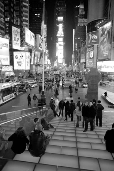 Wall Art - Photograph - Late Night Times Square by Patrick  Flynn