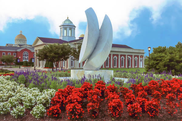 Photograph - Late Spring At Christopher Newport University by Ola Allen
