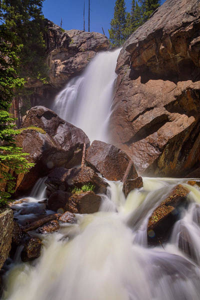 Photograph - Late Spring Ouzel Falls Portrait by James BO Insogna