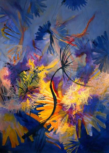 Protein Painting - Late Summer by Georg Douglas