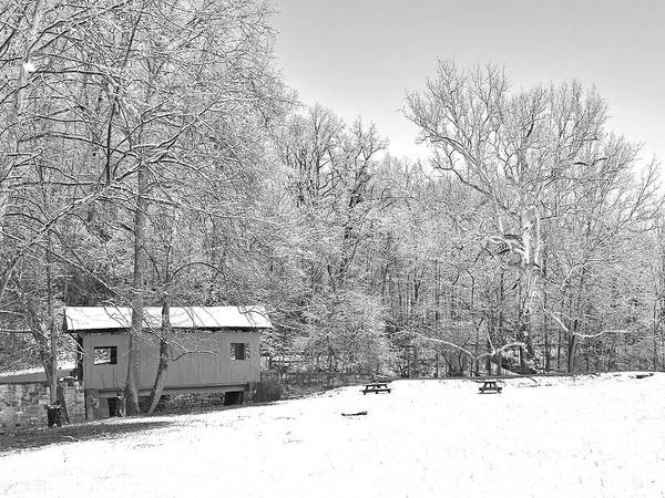 Photograph - Late Winter Snowfall In Western Pennsylvania by Digital Photographic Arts