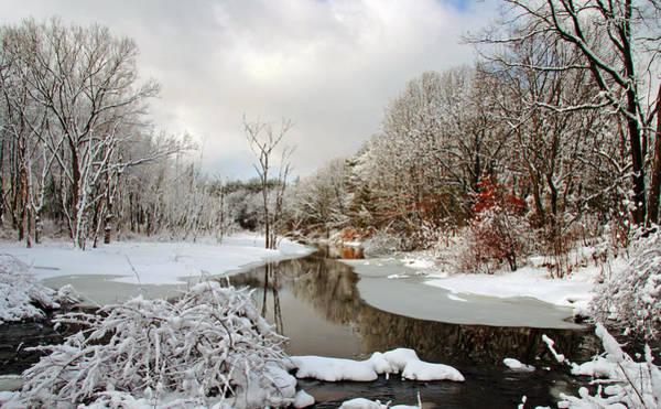 Late Winter Storm Art Print