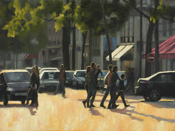 Wall Art - Painting - Latin Quarter Two by Tate Hamilton