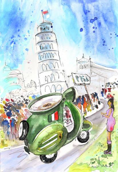 Painting - Latte Macchiato In Pisa by Miki De Goodaboom