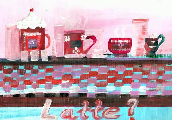 Novelties Painting - Latte by Rosalie Garde