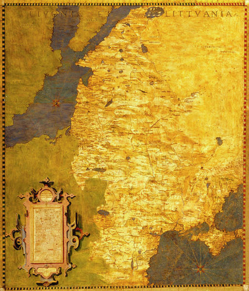 Latvia And Lithuania Art Print