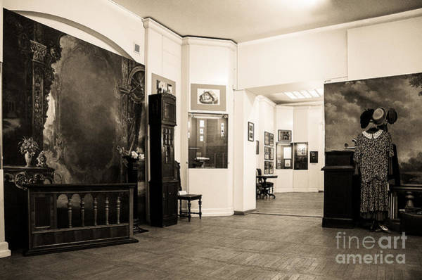 Photograph - Latvian Photo Studio In The Beginning Of The 20th Century Bw by RicardMN Photography