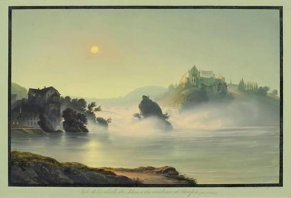 Ch Painting - Laufen Prise Pres De Forges by MotionAge Designs