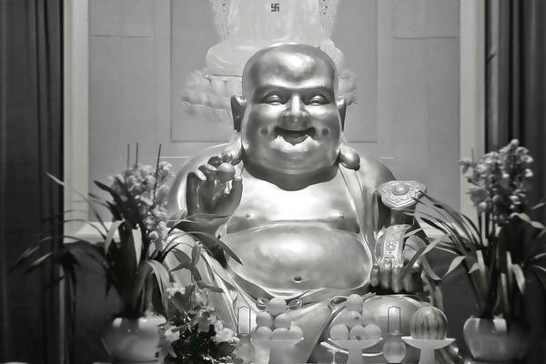 Photograph - Laughing Buddha - A Symbol Of Joy And Wealth by Christine Till