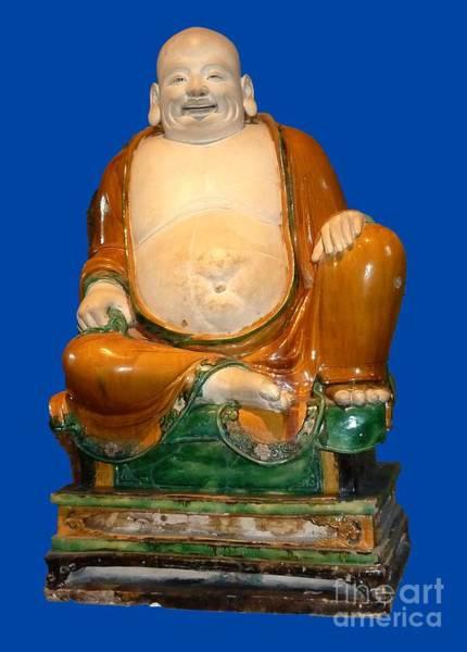 Laughing Monk Art Print