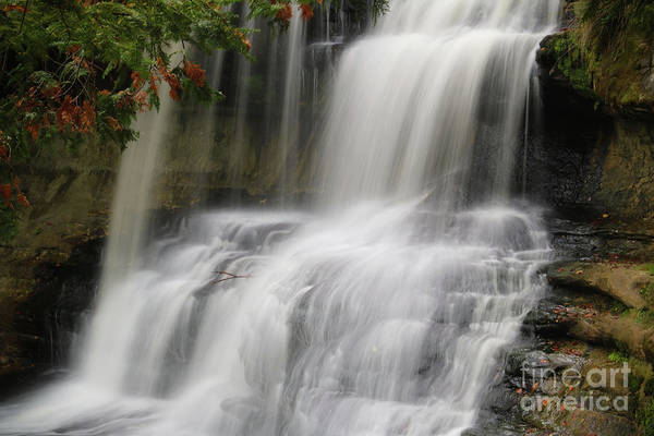 Photograph - Laughing Whitefish Falls 2 by Rachel Cohen