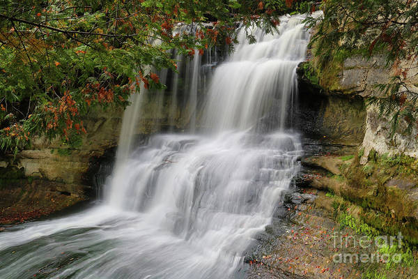 Photograph - Laughing Whitefish Falls by Rachel Cohen