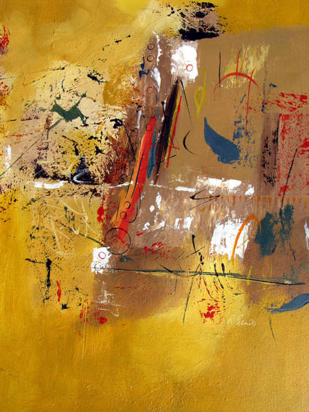Irregular Painting - Laughter Is Good Medicine by Ruth Palmer