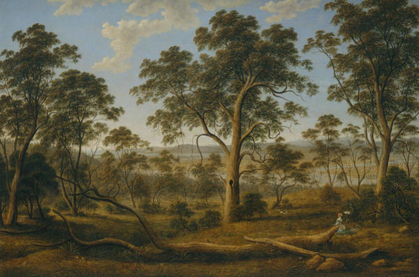 Painting - Launceston And The River Tamar by John Glover