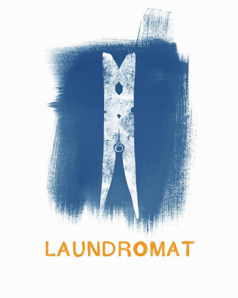 Tool Painting - Laundromat- Art By Linda Woods by Linda Woods