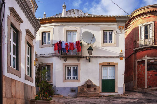 Photograph - Laundry And Architecture In Estoi, Portugal by Tatiana Travelways
