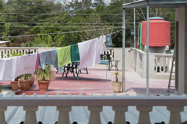 Photograph - Laundry At The Bay by Sharon Popek