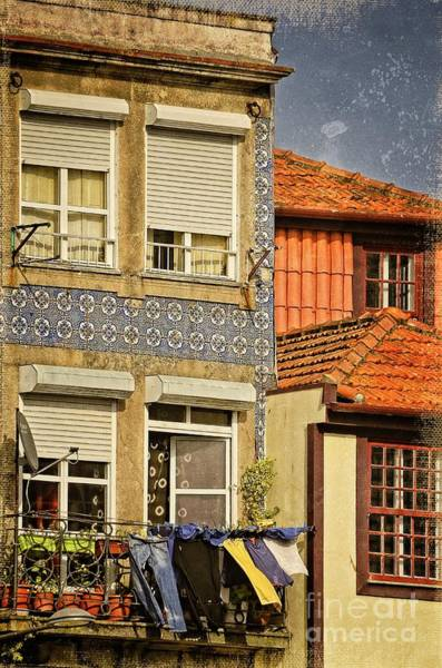 Wall Art - Photograph - Laundry Day In Porto by Mary Machare