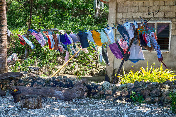 Photograph - Laundry Drying In The Wind by James BO Insogna