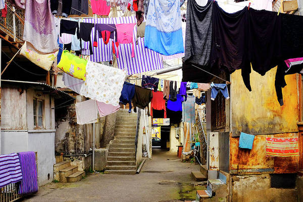 Photograph - Laundry Hanging To Dry by Fabrizio Troiani