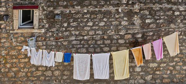 Photograph - Laundry Line - Dubrovnik Croatia #2 by Stuart Litoff