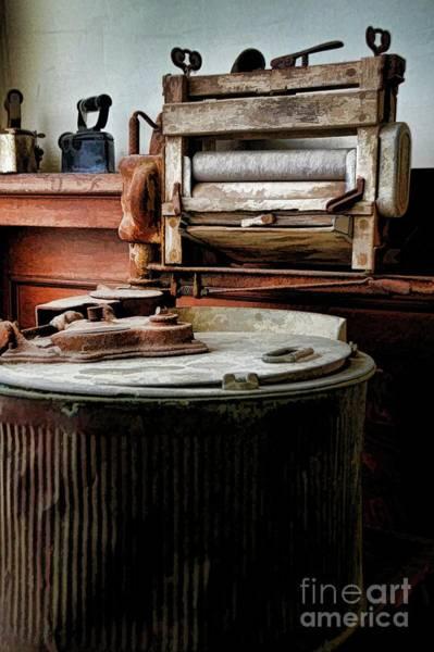 Photograph - Laundry Room by Diana Mary Sharpton