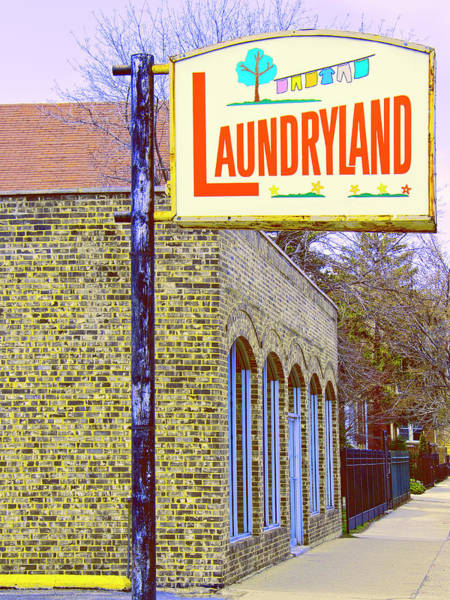 Wall Art - Photograph - Laundryland Chicago by William Dey