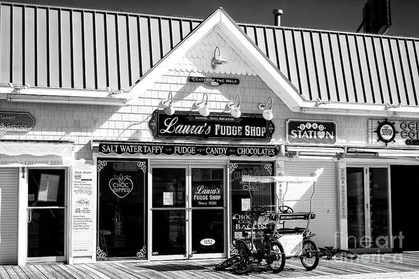 Wall Art - Photograph - Laura's Fudge Shop Ocean City by John Rizzuto