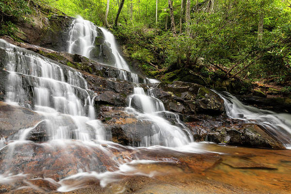 Laurel Hill Creek Photograph - Laurel Falls Tn 1 by John Brueske