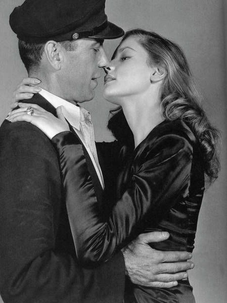 Lauren Bacall Humphrey Bogart To Have And Have Not 1944 Art Print