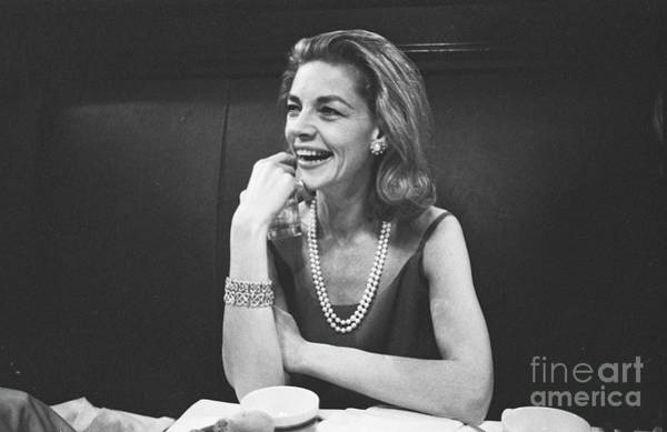 Wall Art - Photograph - Lauren Bacall by The Harrington Collection