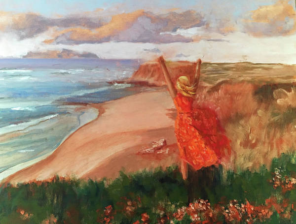 Painting - Lauren In Portugal by Lynne Atwood