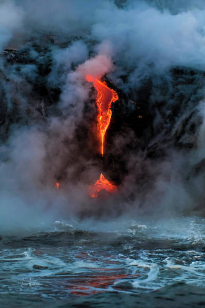 Photograph - Lava And Reflection by Jim Thompson