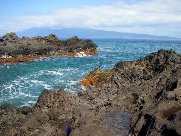 Lava Coastline - West Maui Art Print