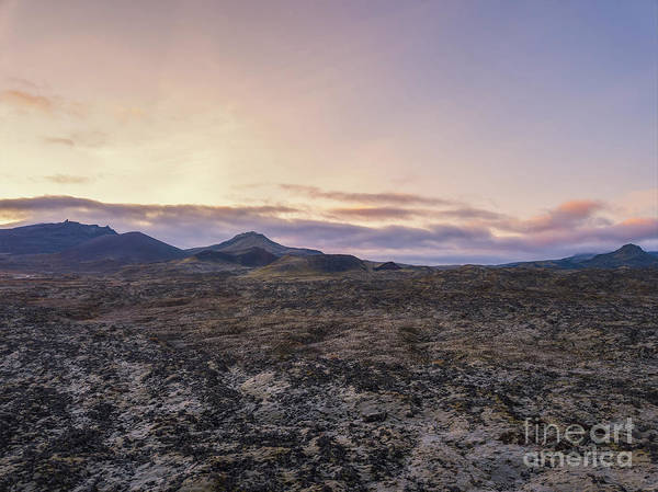 Wall Art - Photograph - Lava Field Flyby  by Michael Ver Sprill