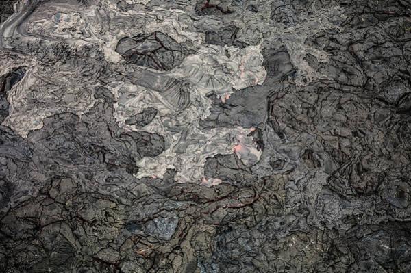 Photograph - Lava Flow by M G Whittingham