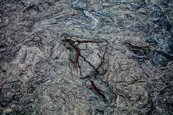 Photograph - Lava by M G Whittingham