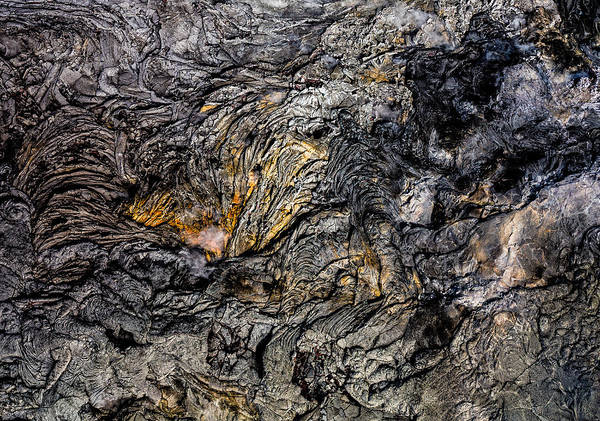 Photograph - Jagged Lava by Miles Whittingham