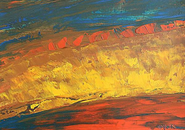 Painting - Lava Flow by Norma Duch