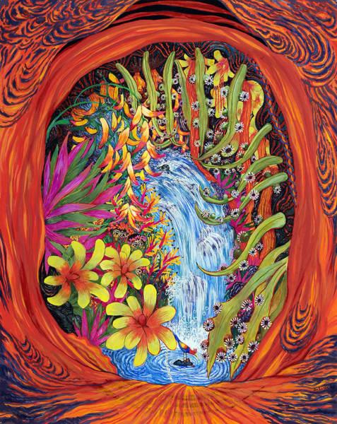 Lava Flow Art Print