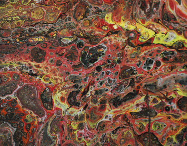 Painting - Lava Rock by Vicki Winchester