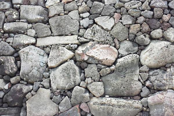 Lava Rock Wall 3 Art Print