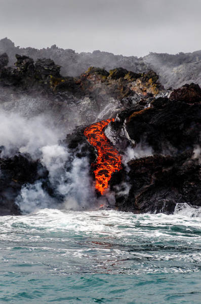 Photograph - Lava Snake by Daniel Murphy