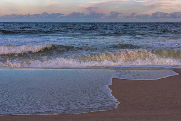 Photograph - Lavallette New Jersey Beach Tide 2016 by Terry DeLuco