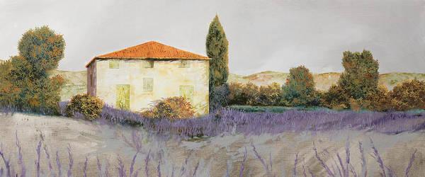Lavender Painting - Lavanda Grassa by Guido Borelli