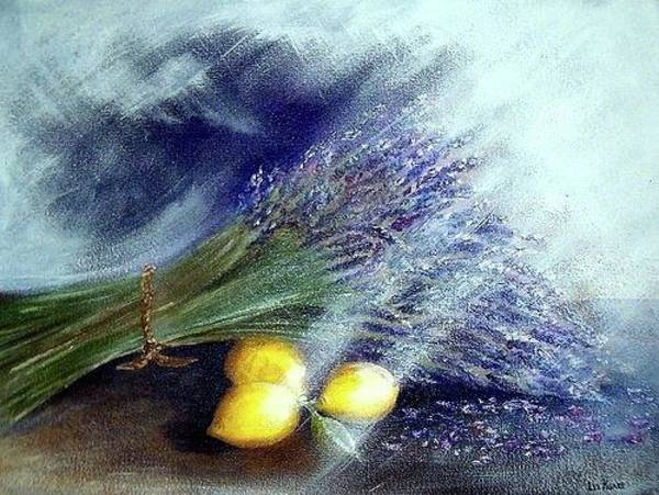 Photograph - Lavender And Lemons by Elizabeth Hoare Gregory